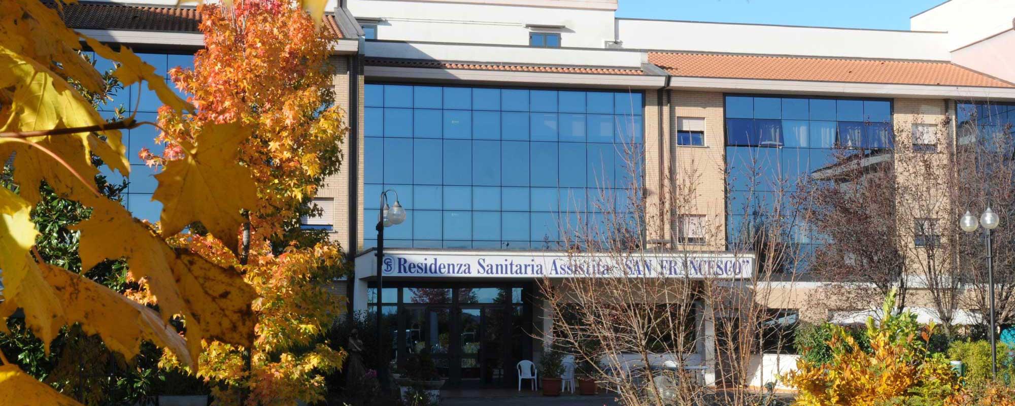 <h2>Residenza Sanitaria Assistenziale</h2>  <h1>San Francesco</h1>