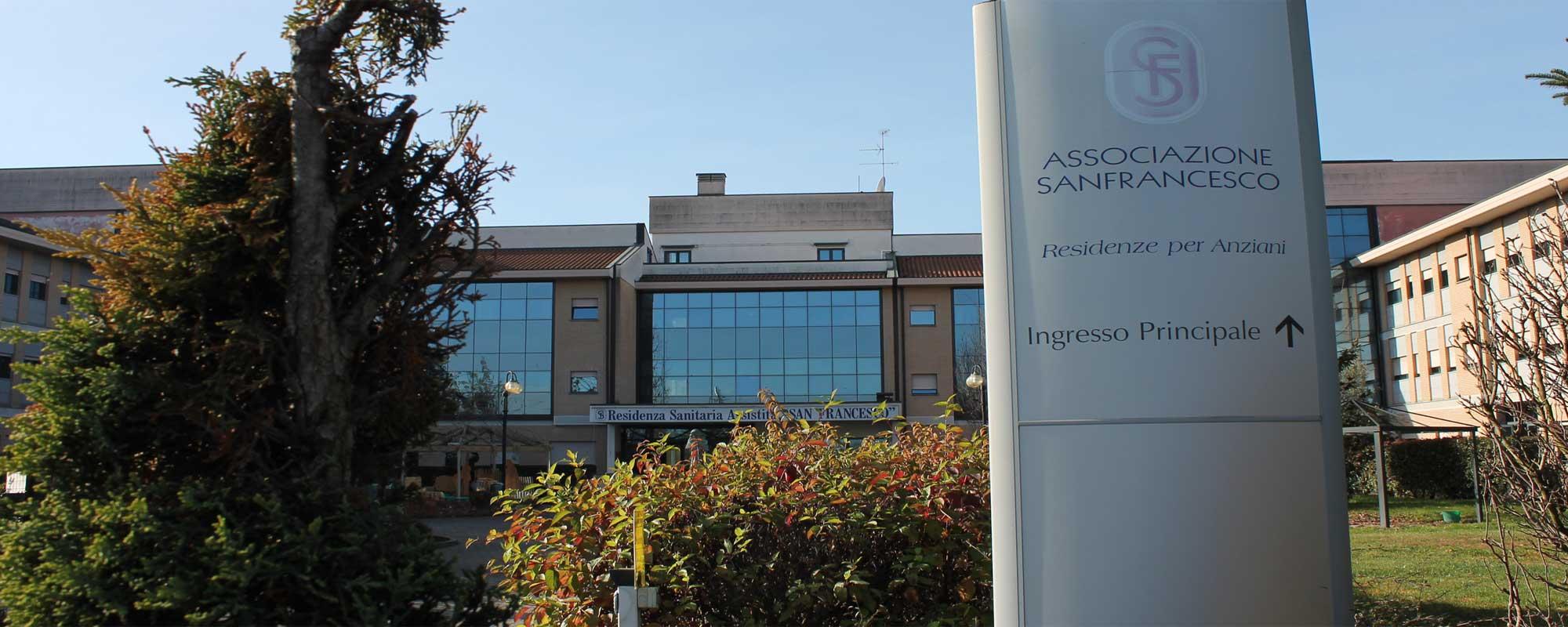 <h2>Residenza Sanitaria Assistenziale </h2> <H1>San Francesco </h1>